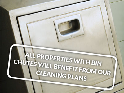 Bin Chute Cleaning Hydro Tech